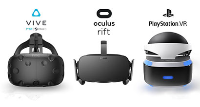 VR Positioning and Head Tracking in HTC vive, Oculus rift and